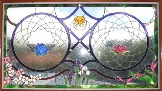 Click here to see Calley's stained glass website for more ideas and information regarding her work.